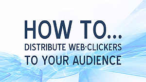 How to distribute web-clickers